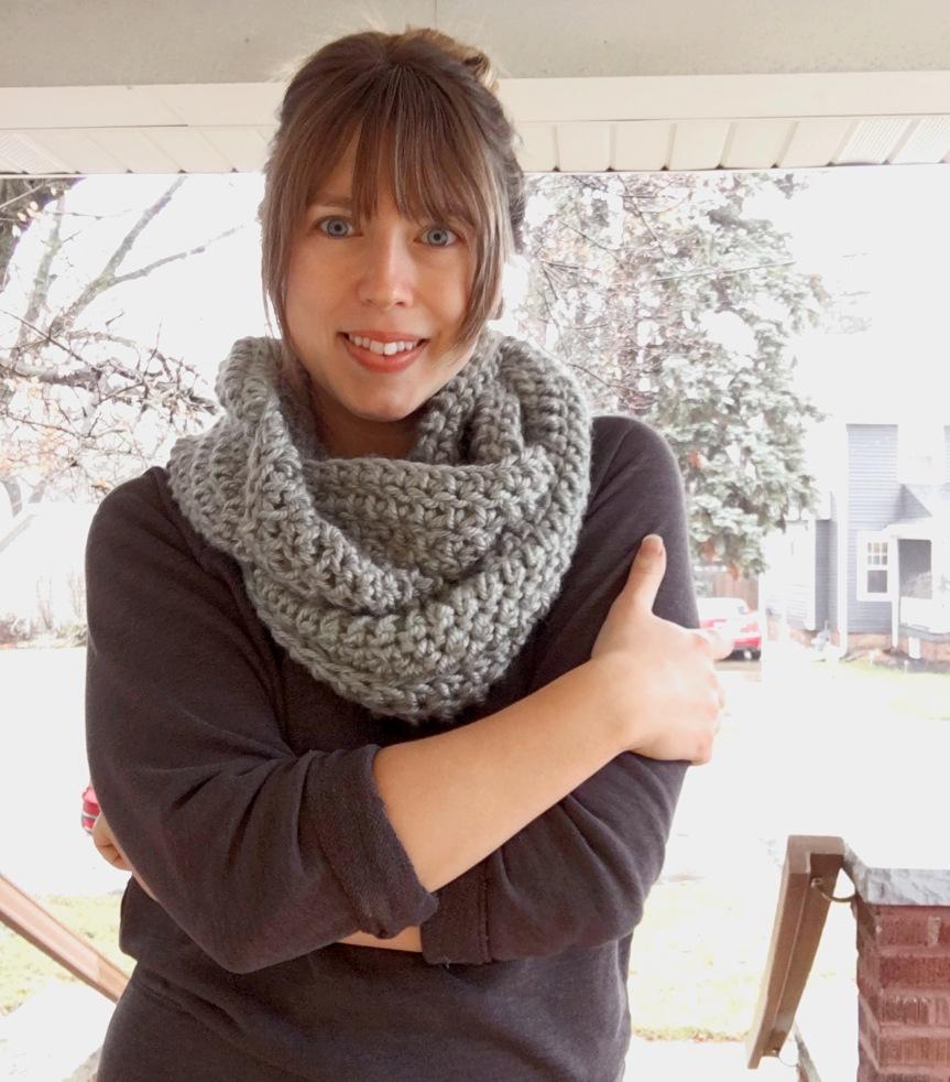 The Silversun Infinity Scarf CrochetPattern.