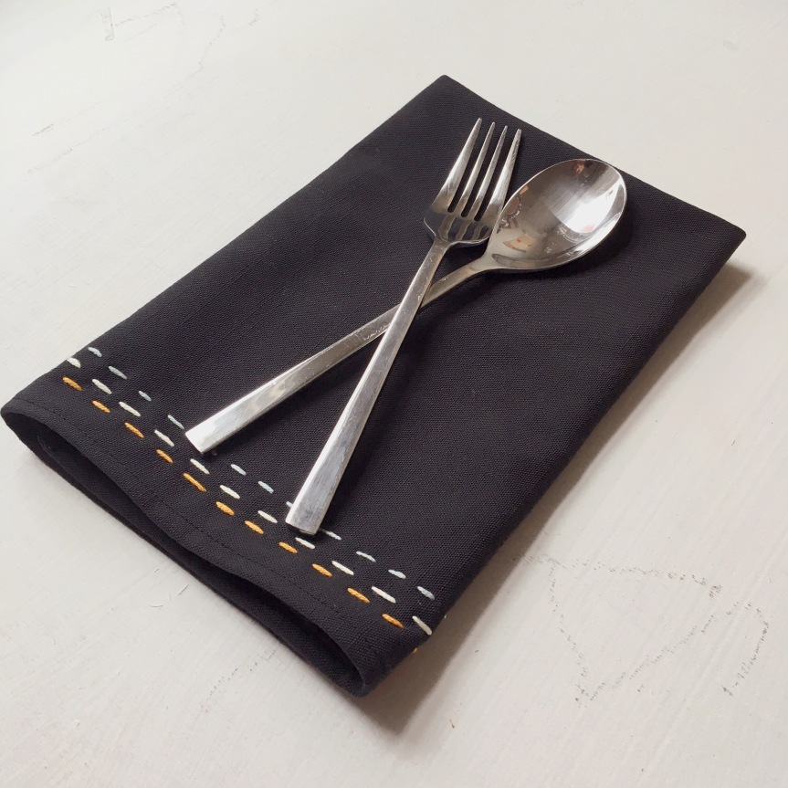 Easy Cloth Napkin DIY