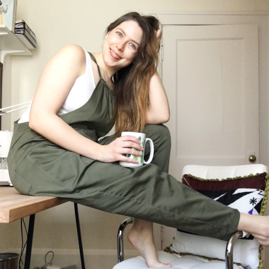 Take Your Mama – The Patsy Overalls from Ready To Sew