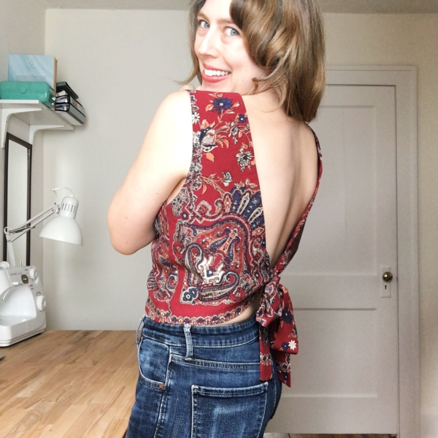 Free Bird – The Bathurst Top from Stitch WitchPatterns