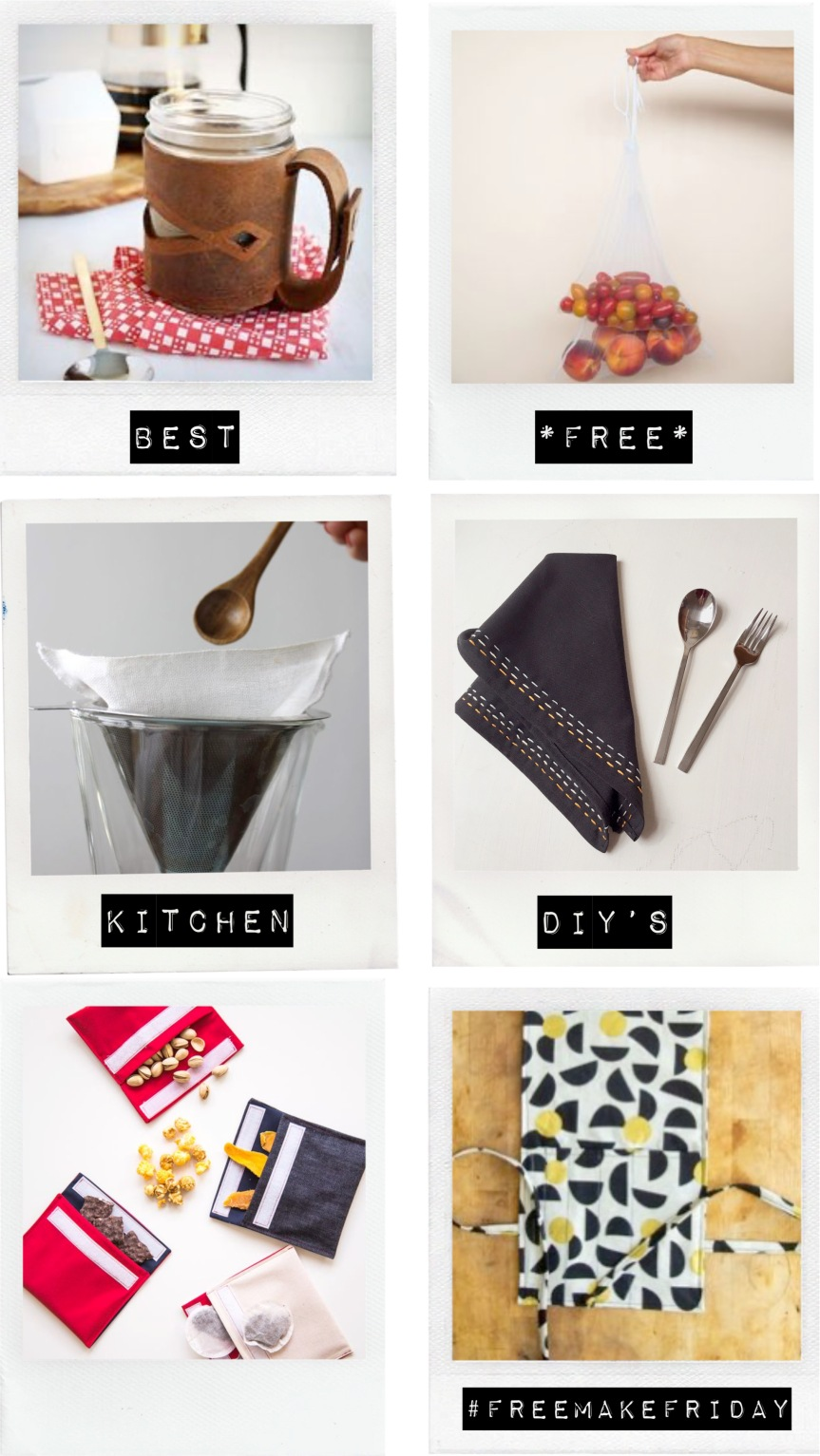#freemakefriday Best Kitchen DIY's
