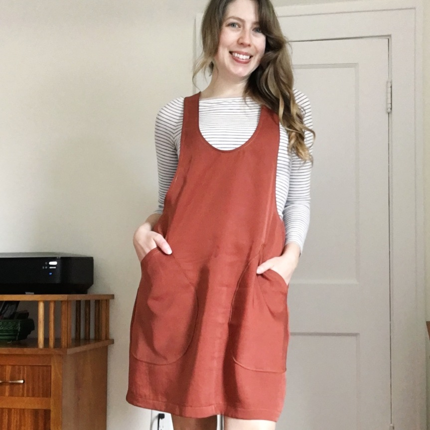 The Start of Something – The York Pinafore from Helen'sCloset